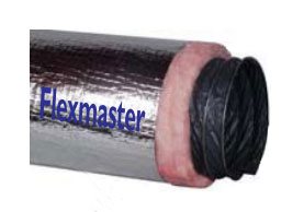 Flexible Duct Insulated 1M
